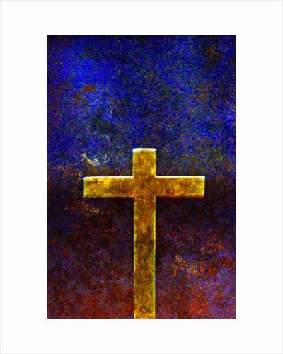 Gold cross by Corbis