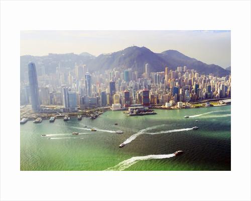 Hong Kong cityscape by Corbis