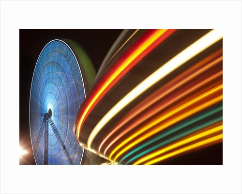 Boardwalk amusement park, Jersey Shore, New Jersey by Corbis
