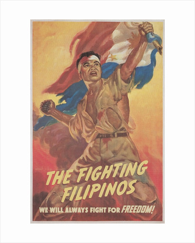 Filipino Freedom Fighter Poster by Corbis