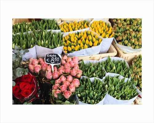 Flower market, Amsterdam by Corbis