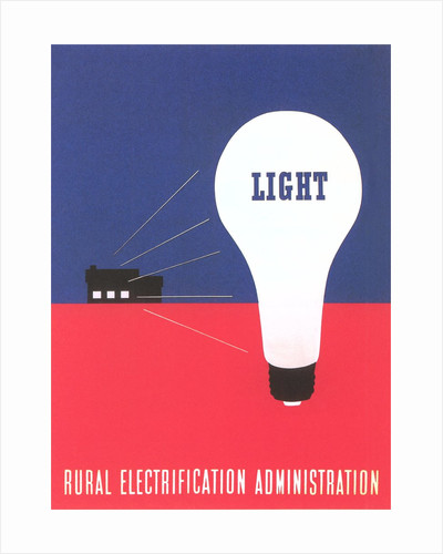 Rural Electrification Administration Poster by Corbis