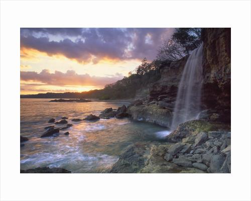 Pietra Colorada Waterfall by Corbis