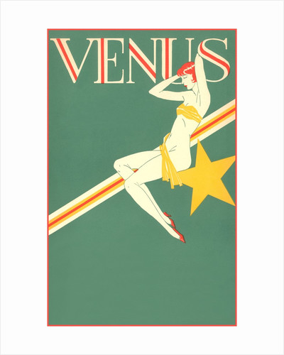 Perched Art Deco Venus by Corbis