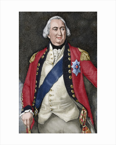 Charles Cornwallis, 1st Marquess Cornwallis (1738-1805). Engraving. Colored by Corbis
