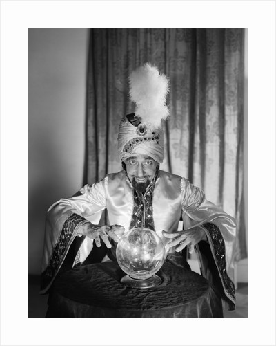 1950s Soothsayer Swami fortuneteller by Corbis