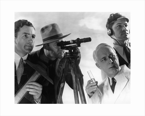1950s male professionals by Corbis