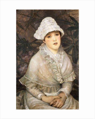 My Wee White Rose by John Atkinson Grimshaw