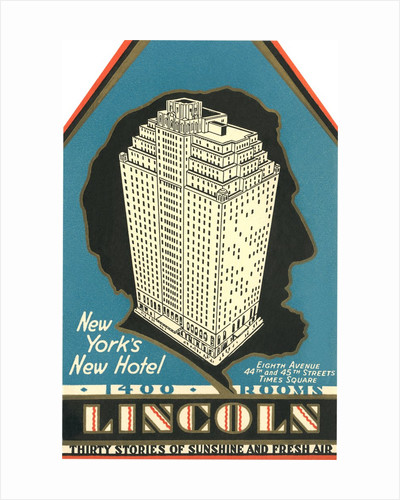 Lincoln Hotel Advertisement by Corbis