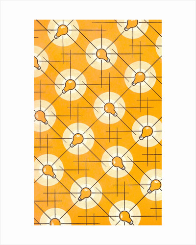 Light Bulb Pattern by Corbis
