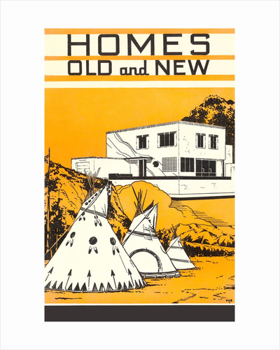Homes Old and New by Corbis