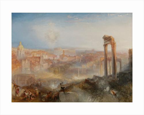 Modern Rome-Campo Vaccino by Joseph Mallord William Turner