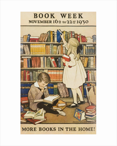 1930 Children's Book Council Book Week Poster by Corbis