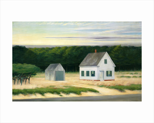 October on Cape Cod by Edward Hopper