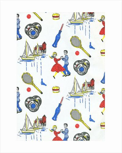 Fifties Teenager Wallpaper by Corbis
