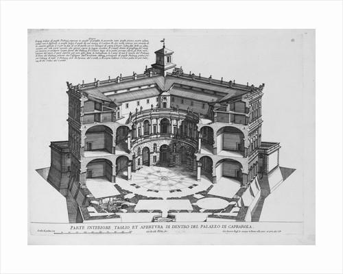 Palazzo di Caprarola: Li Giardini di Roma by Giovanni Battista Falda