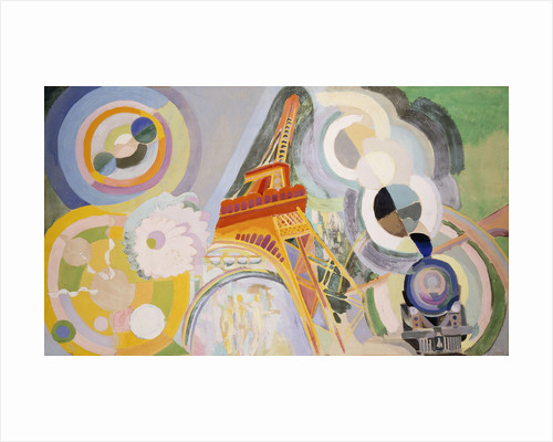 Air, Fire and Water by Robert Delaunay