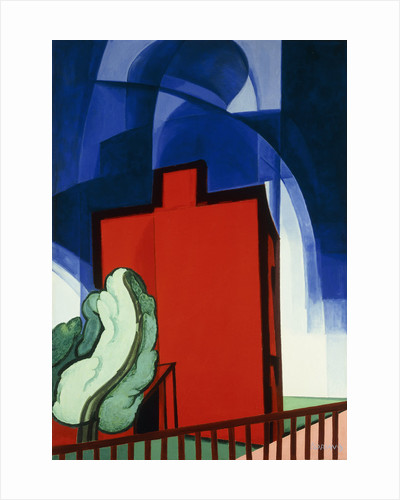 Blue Above by Oscar Florianus Bluemner