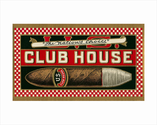 Ad for Club House Cigar by Corbis