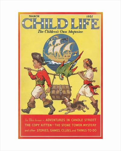 Magazine Cover, Child Life by Corbis