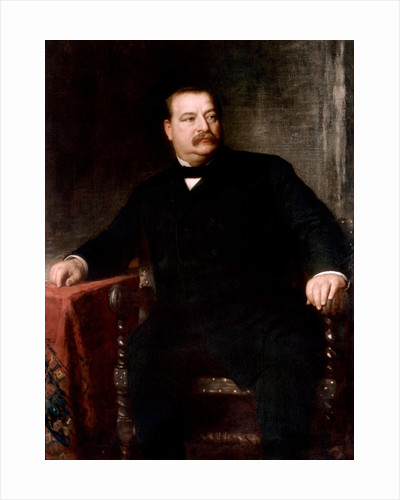 Grover Cleveland by Eastman Johnson