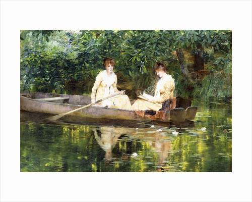 Women in a Rowboat by Francis Coates Jones