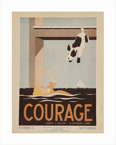 Character Culture Citizenship Guides Original Poster, Courage by Corbis