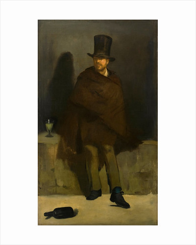The Absinthe Drinker by Édouard Manet by Corbis