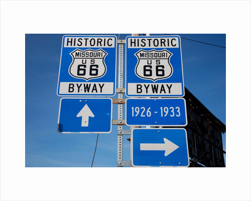 Historic Route 66 by Corbis