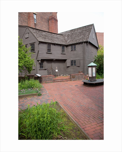 The Paul Revere House, Historic North End, Boston, MA by Corbis