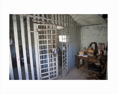 Old jail house in Ridgeway, CO by Corbis
