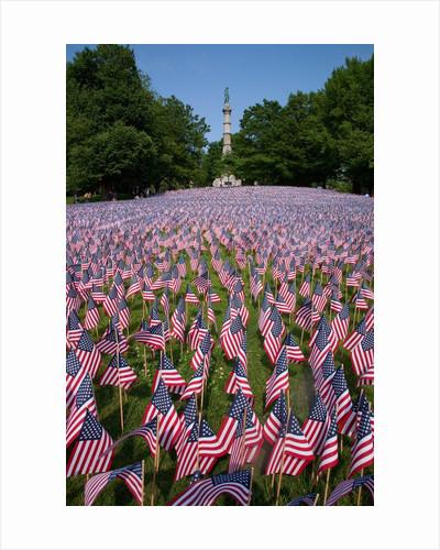 20,000 American Flags, Boston Common, Memorial Day, 2012, Boston, MA by Corbis