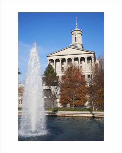 State Capitol of Tennessee, Nashville by Corbis