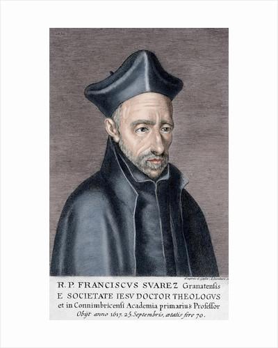 Francisco Suarez (1548-1617). Spanish philosopher and theologian. by Corbis