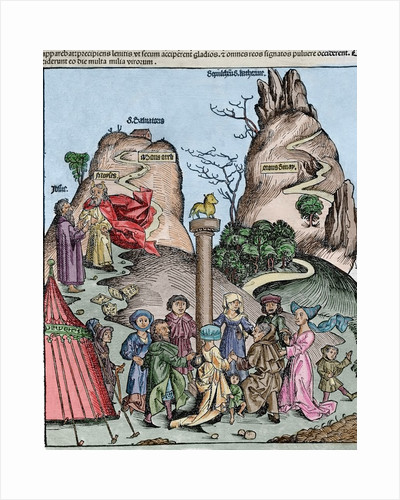 The Nuremberg Chronicle (Liber Chronicarum) by Hartmann Schedel