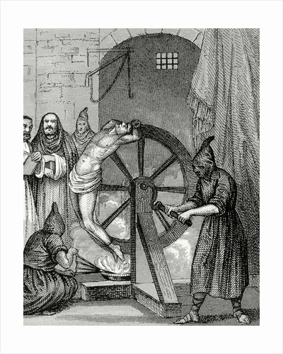 Inquisition. Instrument of torture. Wheel of Fortune. by Corbis