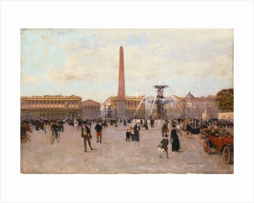La Place de la Concorde by Luigi Loir
