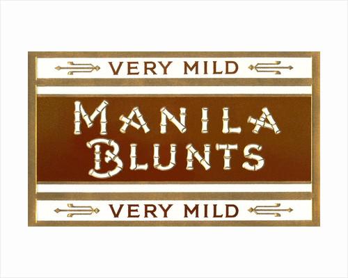 Cigar Box Graphics, Manila Blunts by Corbis