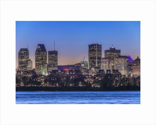Montreal Skyline by Corbis