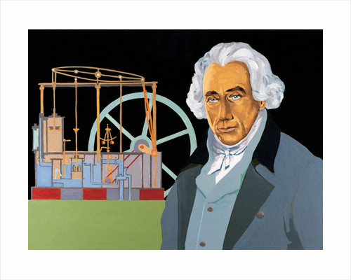 James Watt by Corbis