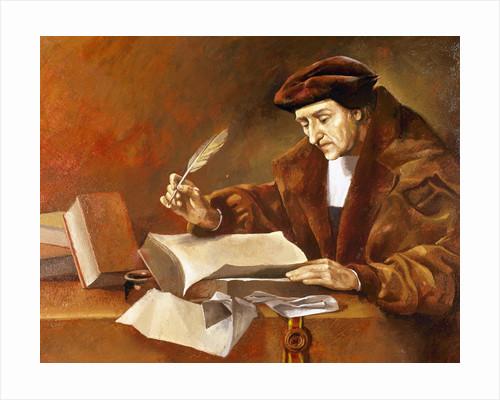 Desiderius Erasmus of Rotterdam. by Corbis
