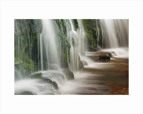 Waterfall Purakaunui Falls by Corbis