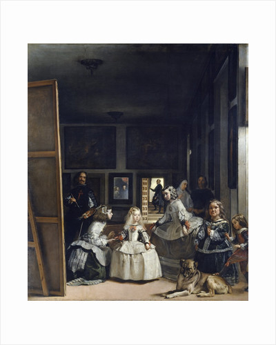 Las Meninas or the Family of Philip IV by Diego Velazquez