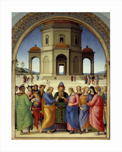 The Marriage of the Virgin by Pietro Perugino