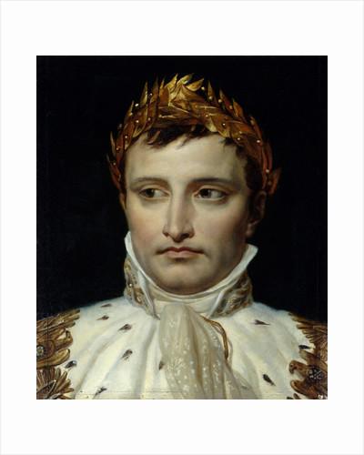 Portrait of Emperor Napoleon I Bonapart by Jacques-Louis David