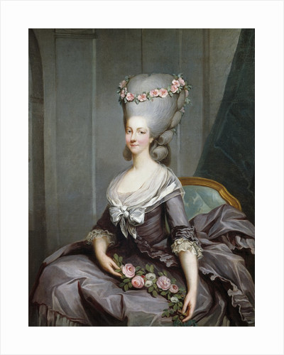 Marie-Therese de Savoie-Carignan, Princess of Lamballe by Antoine-Francois Callet