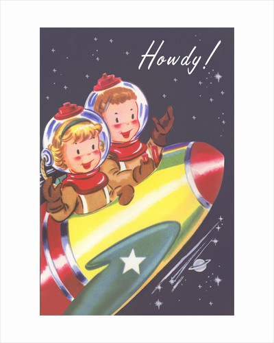 Howdy from Kids in Outer Space by Corbis