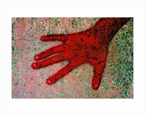 Hand by Corbis