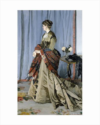 Portrait of Madame Louis Joachim Gaudibert by Claude Monet