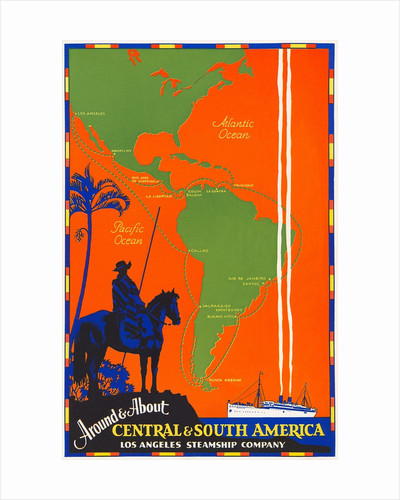 Around & About Central & South America Travel Poster by Corbis